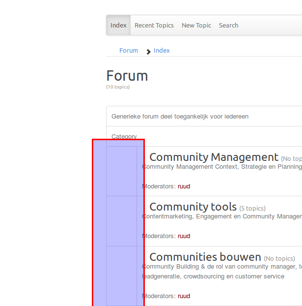 Category icons not showing - Forum - Kunena - To Speak! Next