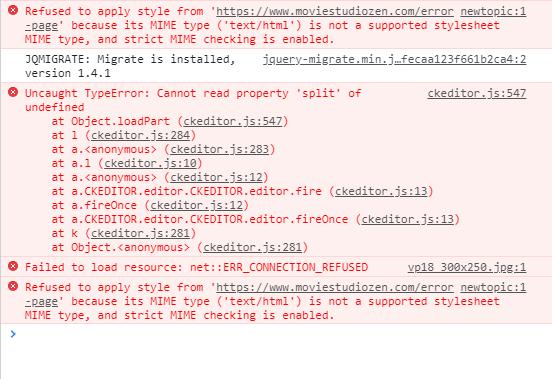 kunena_5.2.2_editor-not-loading-errors.png